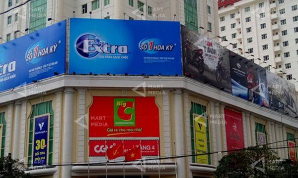 quảng cáo tại siêu thị Big C