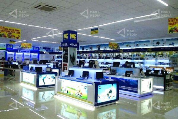 quảng cáo siêu thị điện máy