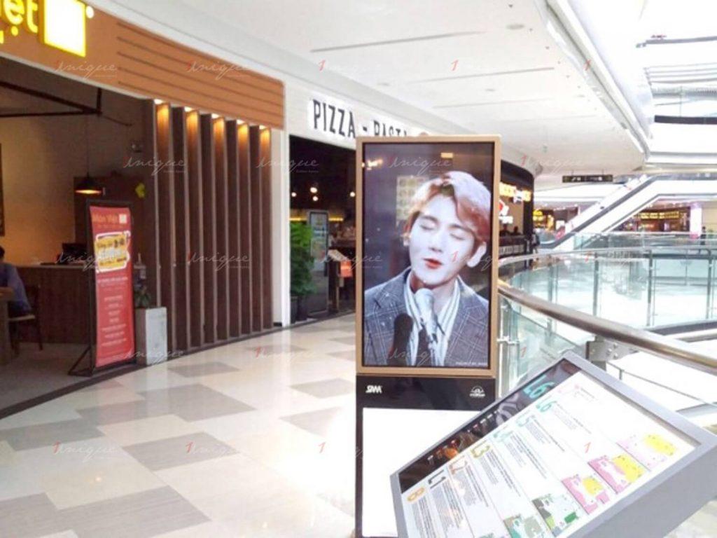 quảng cáo lcd cho beakhyun exo