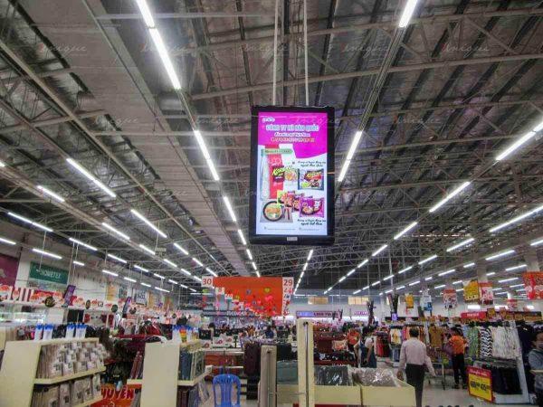 quảng cáo lcd cho mỳ Koreno